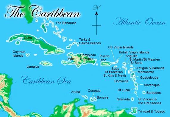 Six Senses Grenada - Map of Grenada