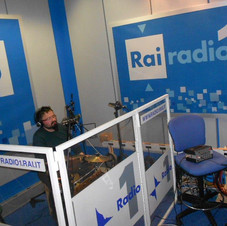@ Radio Rai 1 with Raffaella Daino