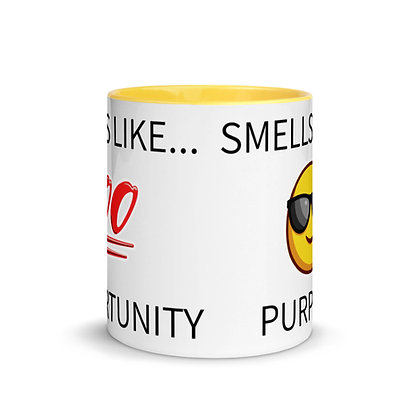 Smells Like Mug with Color Inside