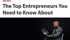 Donnie Thomas named one of The Top Entrepreneurs You Need to Know About in 2021
