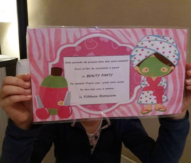 Beauty party - invito