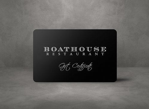 Boathouse Gift Card Two Hundred Dollars