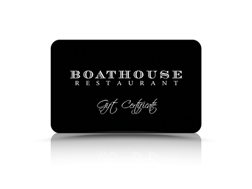Boathouse Gift Card Twenty Five Dollars