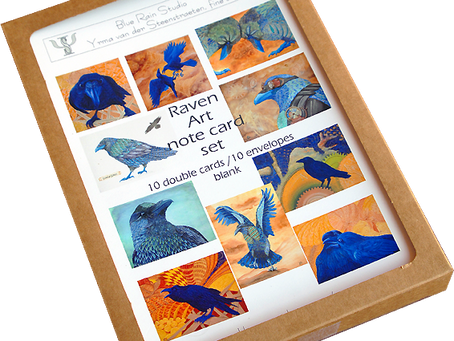 Art Note Card Sets, now available online!