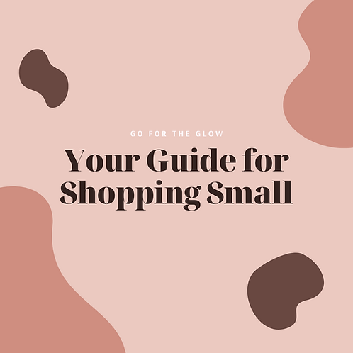 Small Business Holiday Guide 2020