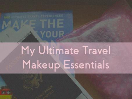 My Ultimate Travel Makeup Essentials