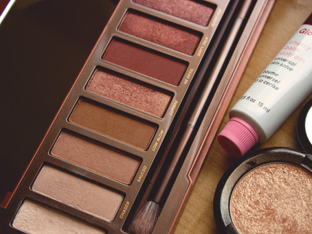 Shopping My Stash with the Naked Heat Palette