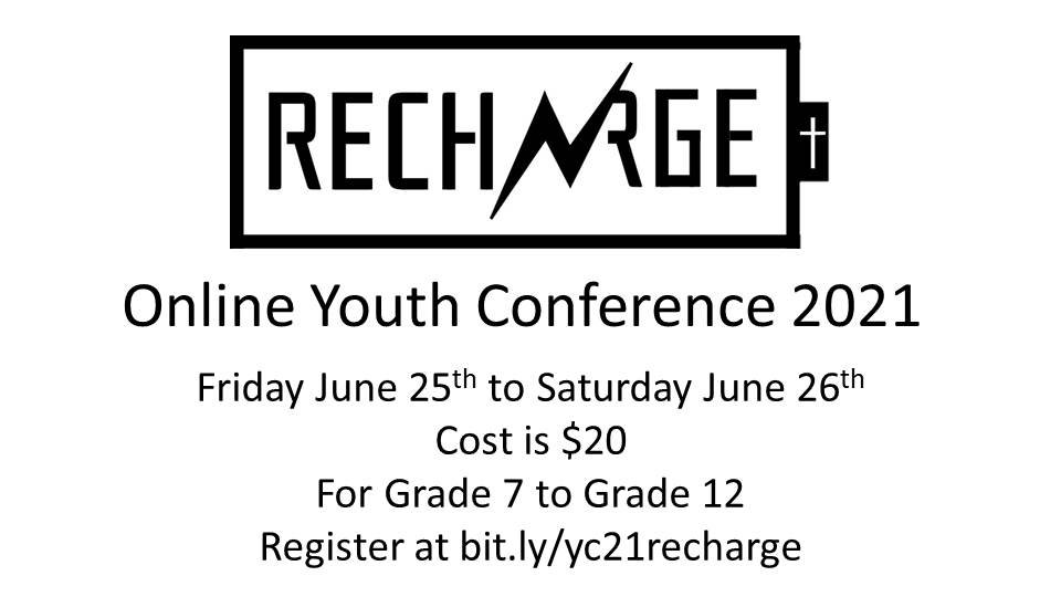 Recharge Online Youth Conference 2021.jp