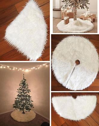 Christmas Tree Fluffy Carpet Decoration