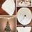 Thumbnail: Christmas Tree Fluffy Carpet Decoration