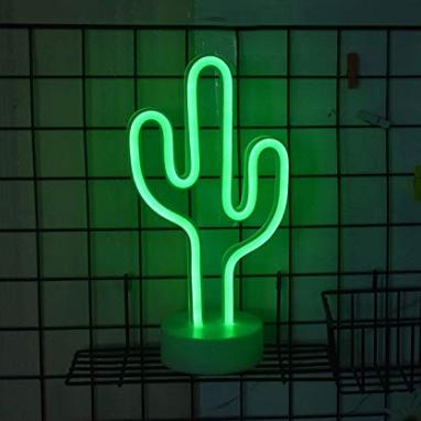 Cactus Neon Sign Lamp