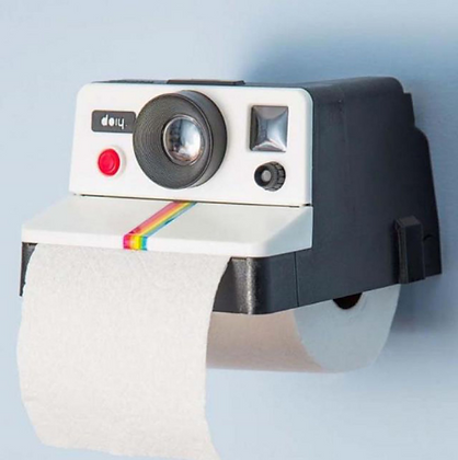 Creative Polaroid Tissue Storage Box/ Toilet Paper Holder
