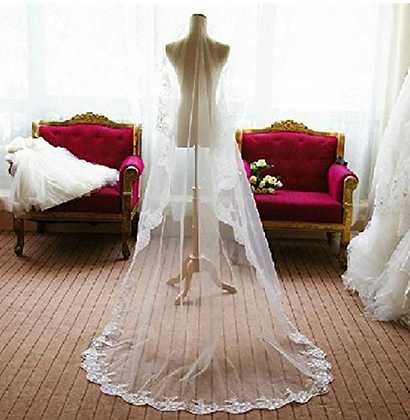 Wedding veil long