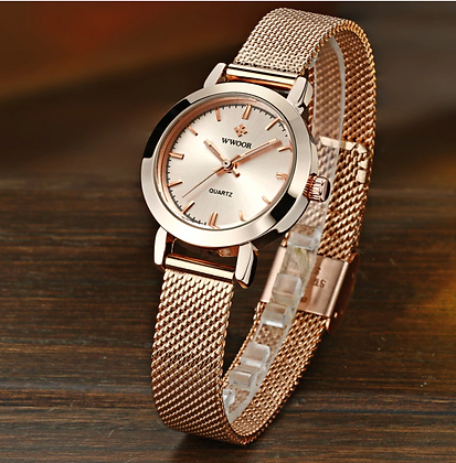 Gold Watch Women