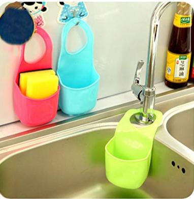Kitchen Sink Sponge Silicone Holder