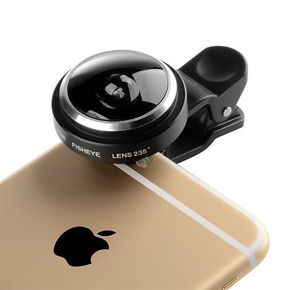 Super Wide Fisheye Smartphone Lens Clip