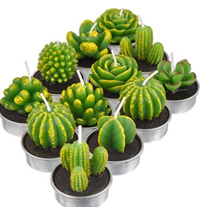 Cactus Tea Candles
