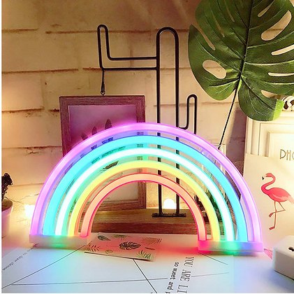 Rainbow Neon LED Sign