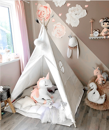 Kids Cotton Play Tent Teepee