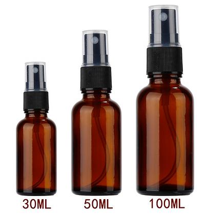 30ml/ 50ml/ 100ml Refillable Sprayer Bottle