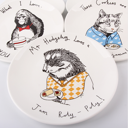 Cute Cake Plates