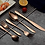 Thumbnail: Rose Gold Stainless Steel Cutlery Set