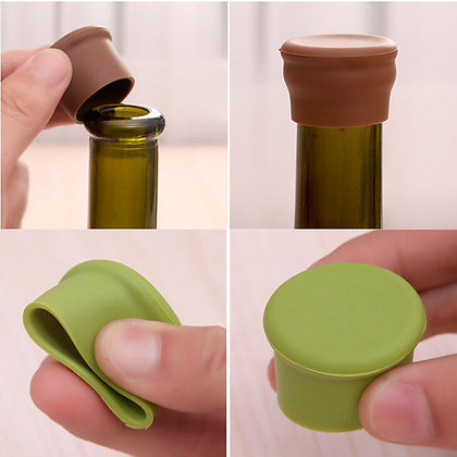 Sillicon Seal Cap for Bottles