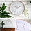 Thumbnail: Rose Gold Wall Quartz Clock