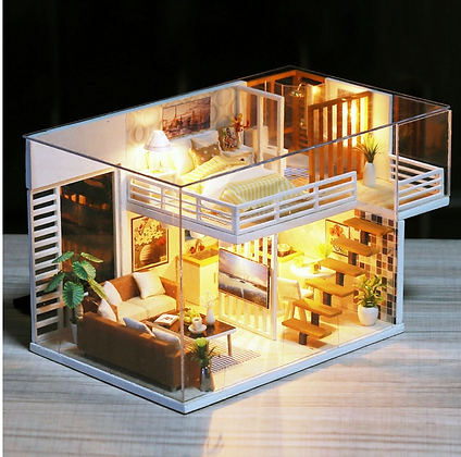 Miniature Doll House Toy