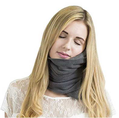 Foldable Compact Travel Scarf Pillow