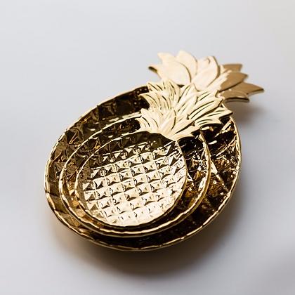 Ceramic Pineapple Dish