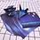 Thumbnail: Origami Mini Diy Blue Sky Paper Sheets Star Sky Pattern Stationary Set