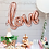 Thumbnail: Rose Gold Love Balloon Decoration