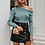 Thumbnail: One Shoulder Knitted Sweater
