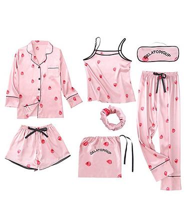 7 Piece Pijama Set