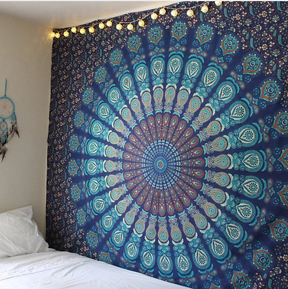 Indian Mandala Decorative Wall Hanging Bohemian Shawl Sheet