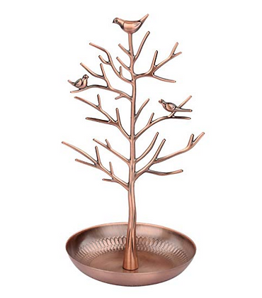Jewellery Tree Display/ Stand/ Holder Rose Gold
