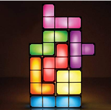 Tetris Stackable LED Table Lamp Mood Lighting Retro Light