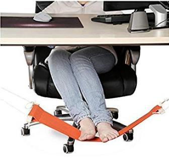 Under Desk Feet Hanging Hammock Office Gadget