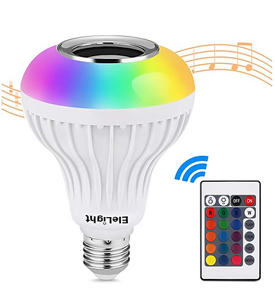 Party Music Light Bulb Bluetooth Speaker