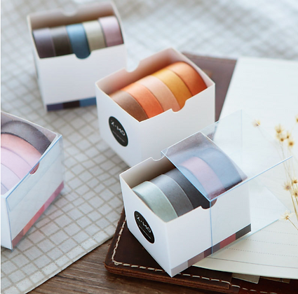 Tones Washi Tape Set 5m