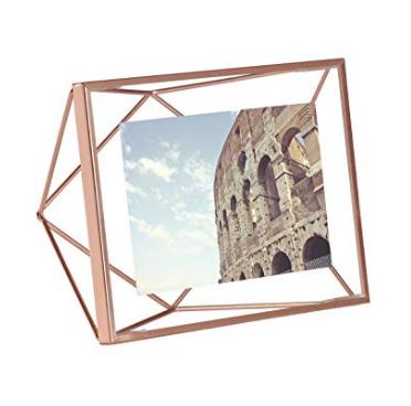 Rose Gold Metal Photo Frame