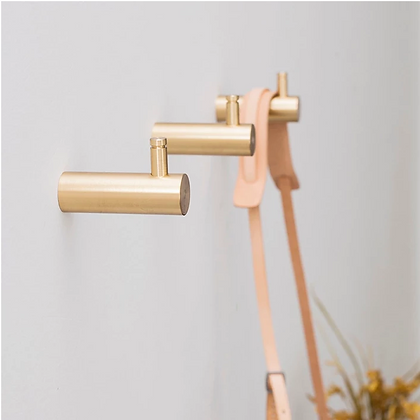 Brass Hooks Wall Hangers