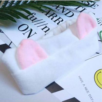 Cute Cotton Cat Ears Headband