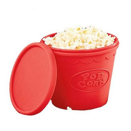 Silicon Microwave Popcorn Bucket