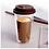 Thumbnail: Double Wall Glass Travel Coffee Mug