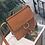 Thumbnail: Nubuck Leather Shoulder Handbag Purse