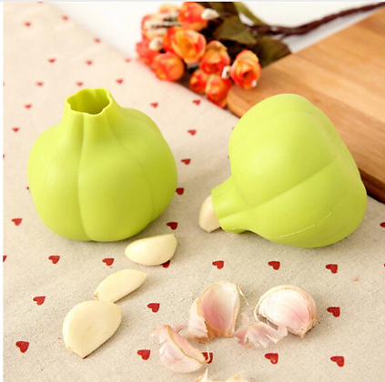 Silicone Garlic Crusher Peeler