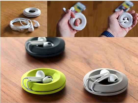 Donut Magnet Headphones Holder Organizer