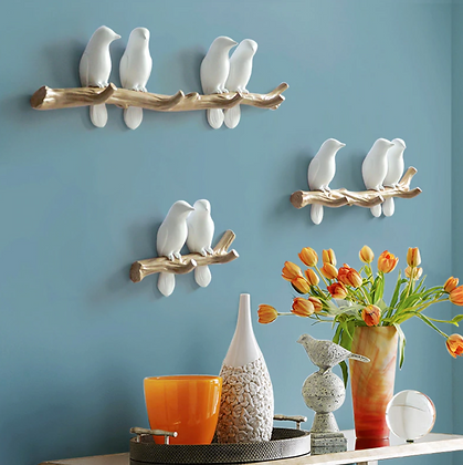 Wall Decorations Home Accessories Hanger Bird